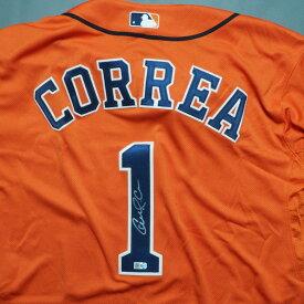 MLB アストロズ カルロス・コレア 直筆サイン入り ユニフォーム/ユニホーム 50周年記念 2015 ミルクリーク/Mill Creek