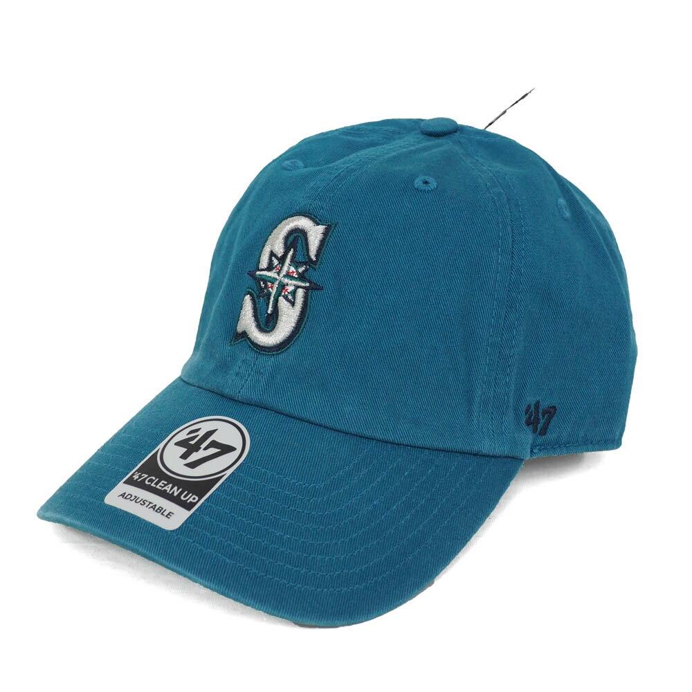 MLB マリナーズ クリーンナップ キャップ/帽子 47ブランド/47Brand アクア【0702価格変更)】