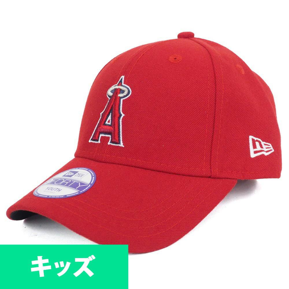 MLB エンゼルス 帽子 キッズ ジュニア 9FORTY キャップ