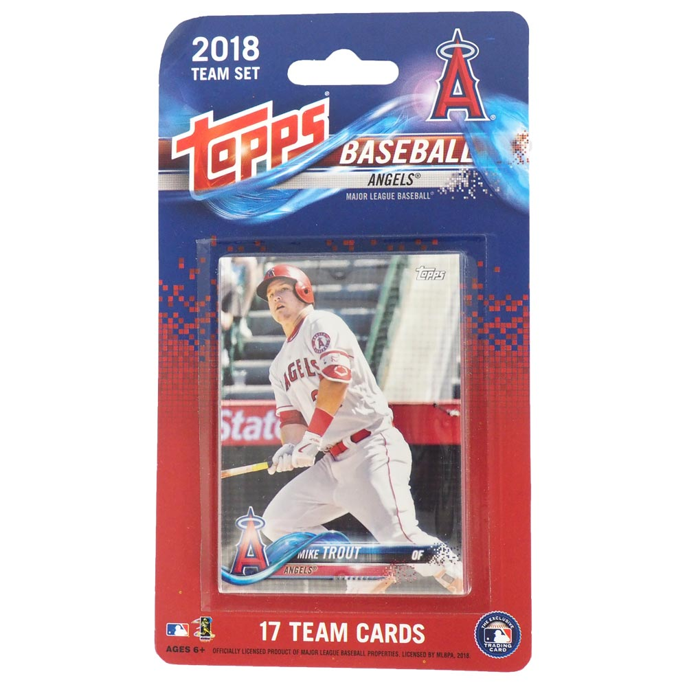 MLB エンゼルス 2018 カードセット トップス/Topps レアアイテム