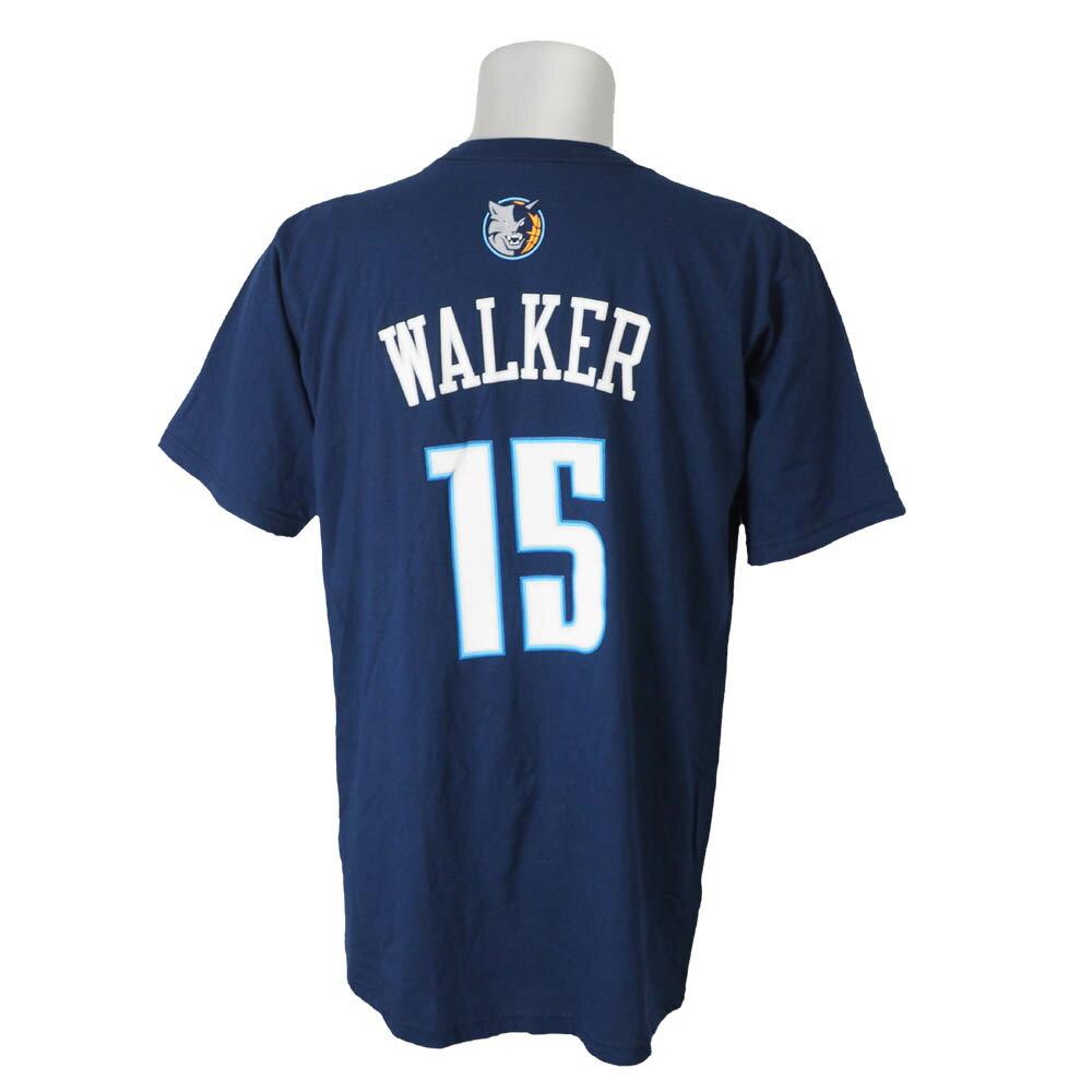 NBA ボブキャッツ ケンバ・ウォーカー ゲームタイム Tシャツ アディダス/Adidas ネイビー レアアイテム