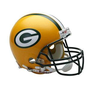 NFLパッカーズオーセンティックヘルメット選手着用VSR4リデル/Riddell