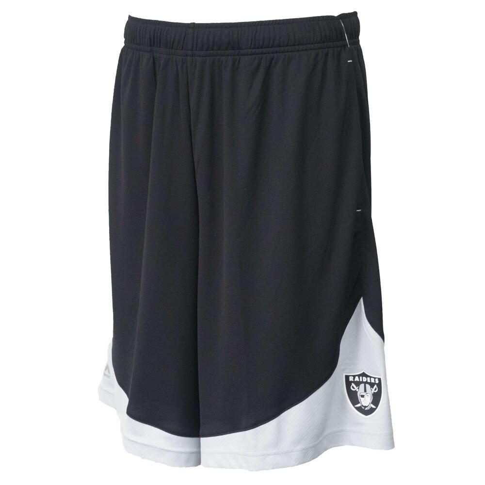 NFL レイダース ショーツ/ショートパンツ スパーク ムーブメント Majestic ブラック
