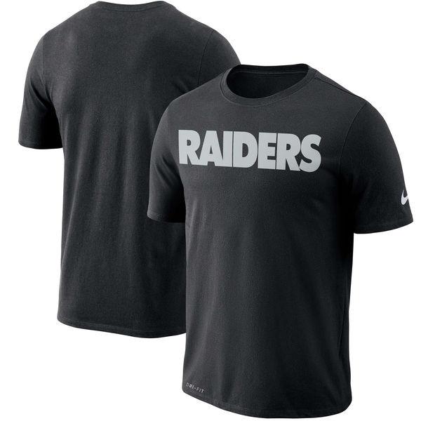 NFL レイダース ドライフィット ワードマーク Tシャツ ナイキ/Nike ブラック