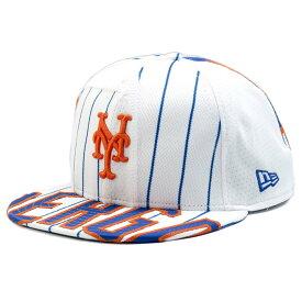 MLB メッツ ノア・シンダーガード プレミアム キャップ/帽子 オーセンティックジャージ使用 ニューエラ/New Era