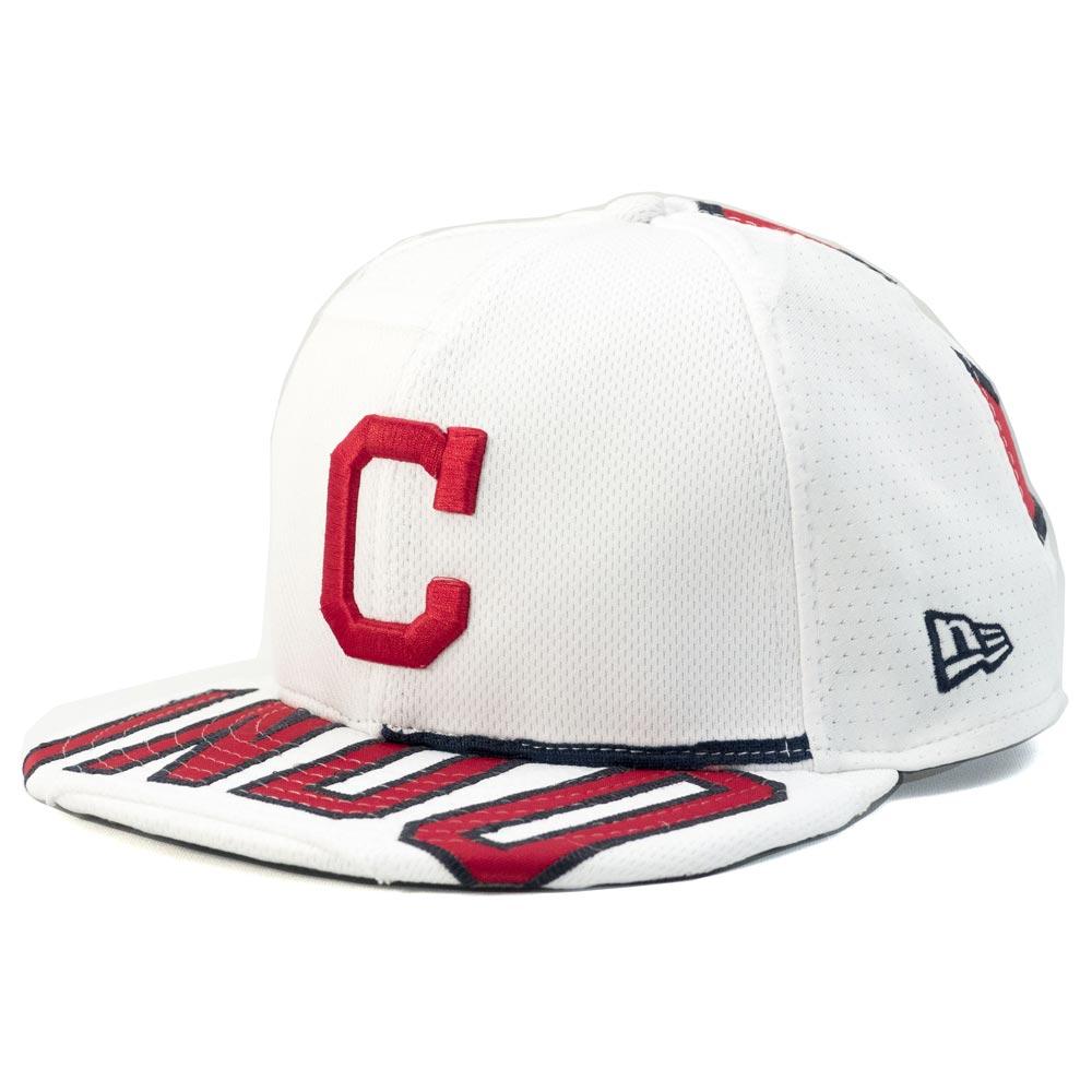 MLB インディアンス フランシスコ・リンドール プレミアム キャップ/帽子 オーセンティックジャージ使用 ニューエラ/New Era