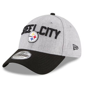 NFLスティーラーズキャップ/帽子2018ドラフトオンステージ39THIRTYフレックスニューエラ/NewEra