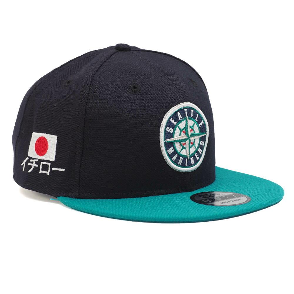 MLB マリナーズ イチロー キャップ/帽子 イチロー 9FIFTY ニューエラ/New Era ネイビー