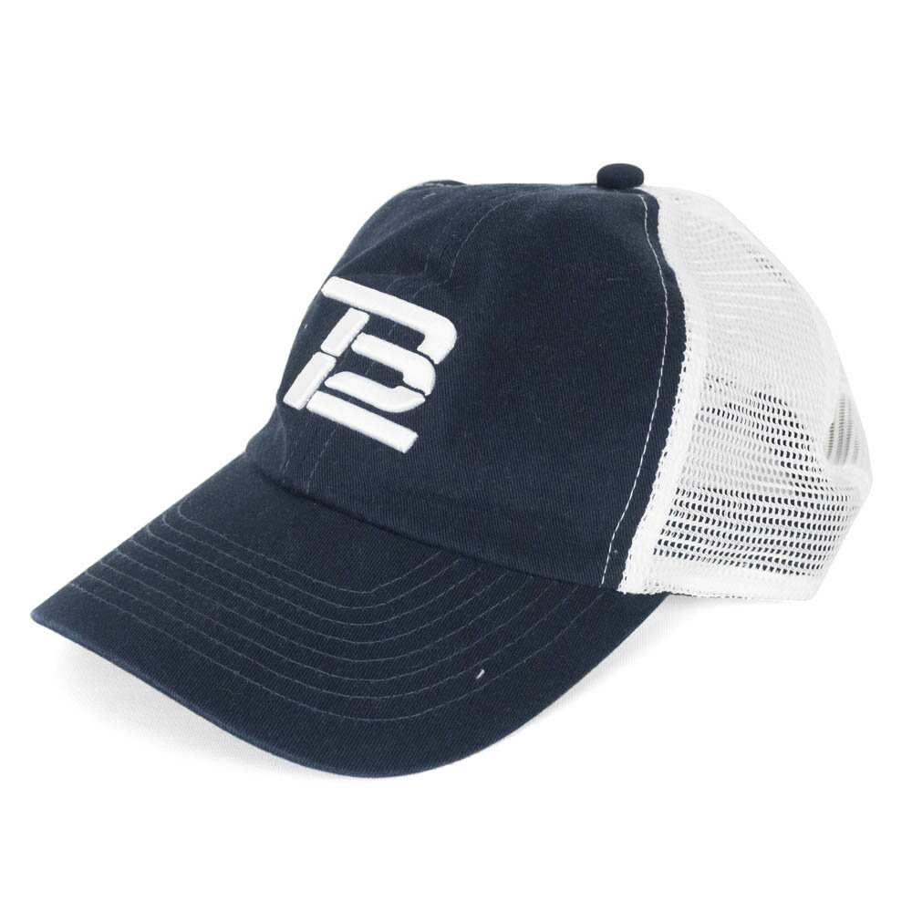 NFL トム・ブレイディ キャップ/帽子 メッシュ TB12 ネイビー