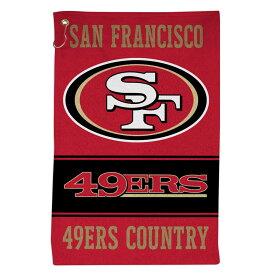 スーパーボウル進出 NFL 49ers スポーツタオル ウィンクラフト/WinCraft