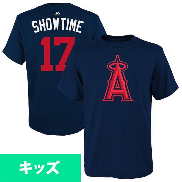 お取り寄せ MLB エンゼルス 大谷翔平 Tシャツ 2018 プレーヤーズ・ウィークエンド ネーム&ナンバー キッズ