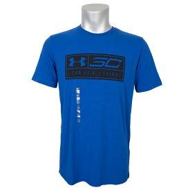 SC30 ステファン・カリー ステフィン・カリー Tシャツ ロゴナンバー #30 アンダーアーマー/UNDER ARMOUR ロイヤル