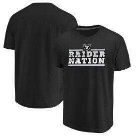 NFL レイダース Tシャツ 半袖 セーフティブリッツ マジェスティック/Majestic ブラック【OCSL】