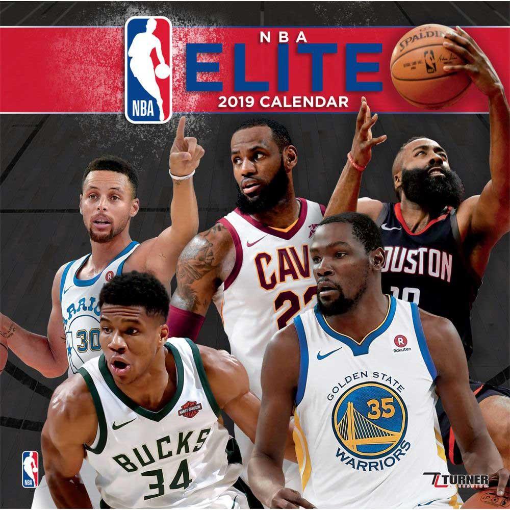 NBA 2019 オールスター プレイヤー カレンダー ターナー/Turner