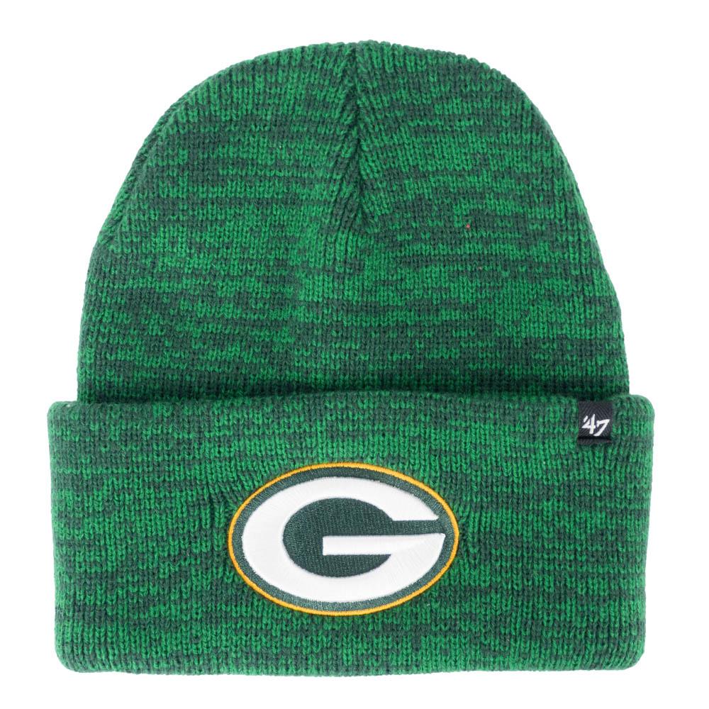 NFL パッカーズ ニットキャップ/ニット帽 カフ 47 Brand グリーン