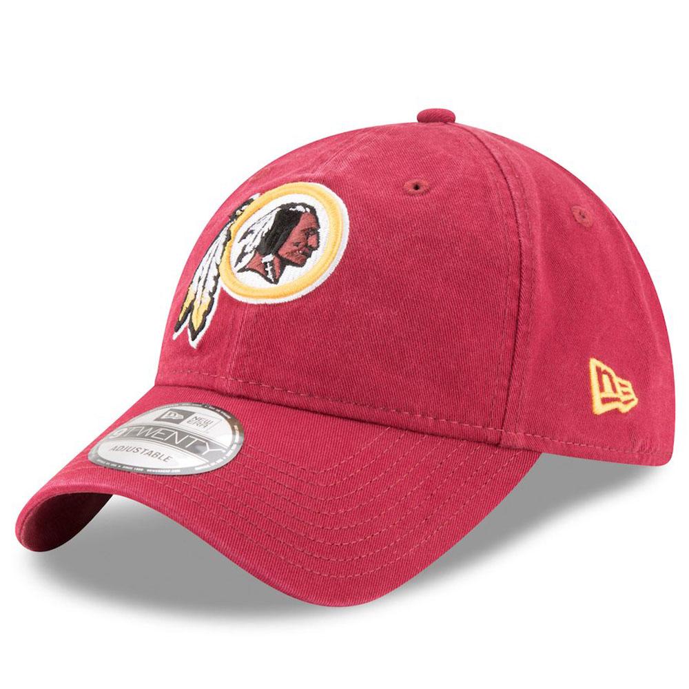 NFL レッドスキンズ キャップ/帽子 コア クラシック アジャスタブル ニューエラ/New Era マルーン