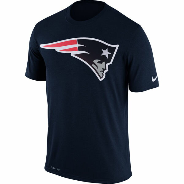 NFL ペイトリオッツ Tシャツ エッセンシャル ロゴ 2018 ナイキ/Nike カレッジネイビー 922535-419