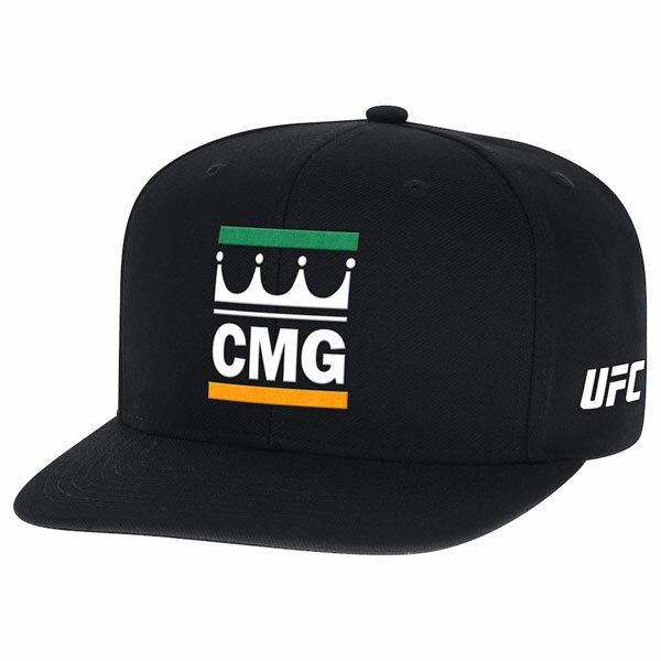 お取り寄せ UFC コナー・マクレガー キャップ/帽子 キング CMG リーボック/Reebok ブラック