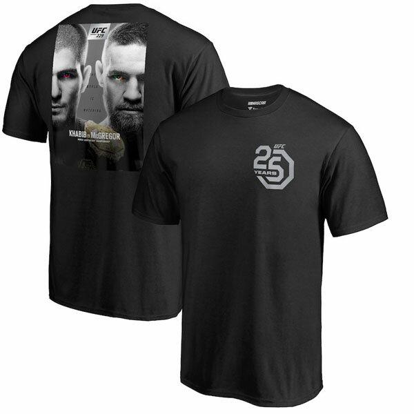お取り寄せ UFC コナー・マクレガー Tシャツ 229 マッチアップ ポスター ブラック