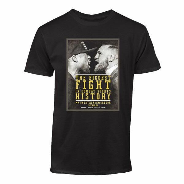 お取り寄せ UFC コナー・マクレガー Tシャツ フロイド リミテッド・エディション ブラック