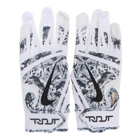 MLB マイク・トラウト バッティング グローブ/手袋 トラウト エッジ ナイキ/Nike ホワイト/グレーカモ