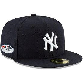 MLB ヤンキース キャップ/帽子 2018 プレーオフ進出記念 サイドパッチ 選手着用 ニューエラ/New Era ゲーム
