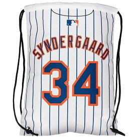 MLB メッツ ノア・シンダーガード ドローストリング ナップサック/バックパック ジャージ Forever Collectibles