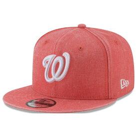 MLB ナショナルズ キャップ/帽子 パステルカラー ネオンタイム スナップバック ニューエラ/New Era オレンジ