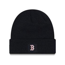 MLB レッドソックス ニットキャップ/ニット帽 選手着用モデル 2018 ニューエラ/New Era ネイビー