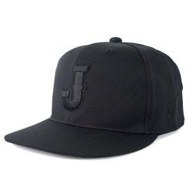 侍ジャパン 日本代表 キャップ/帽子 キャップ Jロゴ アシックス/Asics ブラック
