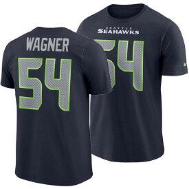 NFL シーホークス ボビー・ワグナー Tシャツ プレイヤー プライド ネーム&ナンバー ナイキ/Nike カレッジネイビー