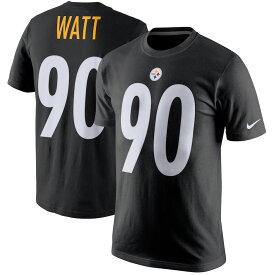 NFL スティーラーズ T・J・ワット Tシャツ プレイヤー プライド ネーム&ナンバー ナイキ/Nike ブラック【1910価格変更】