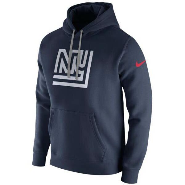 お取り寄せ NFL ジャイアンツ パーカー/フーディー プルオーバー フリース クラブ フーディ ナイキ/Nike カレッジネイビー