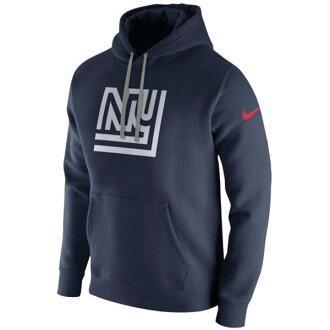 訂購的NFL巨人Parker/誰D套衫fleece俱樂部誰日耐吉/Nike高等專門學校深藍