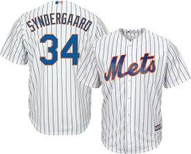 MLB メッツ ノア・シンダーガード レプリカ ユニフォーム/ジャージ クールベース マジェスティック/Majestic ホーム