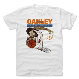 NBA ニックス チャールズ・オークリー Tシャツ プレーヤー アート エアリアル ダンク 500Level ホワイト
