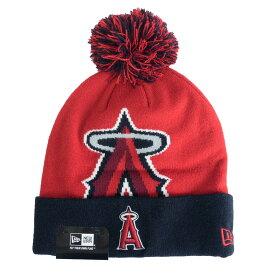 MLB エンゼルス ニットキャップ/ニット帽 ウーベン ビギー ビーニー ニューエラ/New Era ネイビー