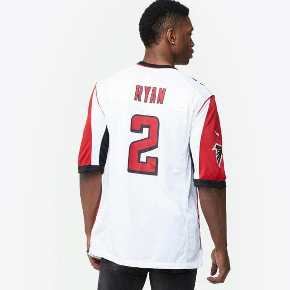 お取り寄せ NFL ファルコンズ マット・ライアン ゲーム ユニフォーム/ジャージ ナイキ/Nike ホワイト