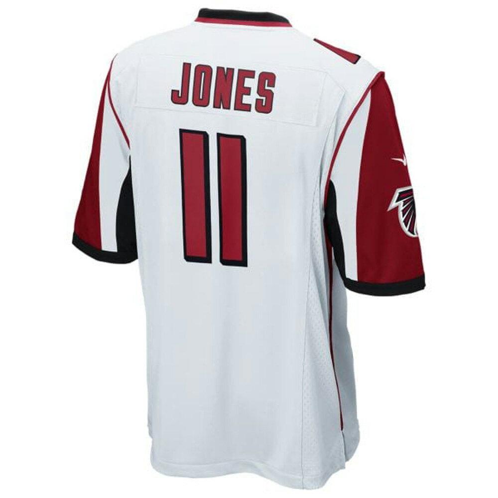 お取り寄せ NFL ファルコンズ フリオ・ジョーンズ ゲーム ユニフォーム/ジャージ ナイキ/Nike ホワイト