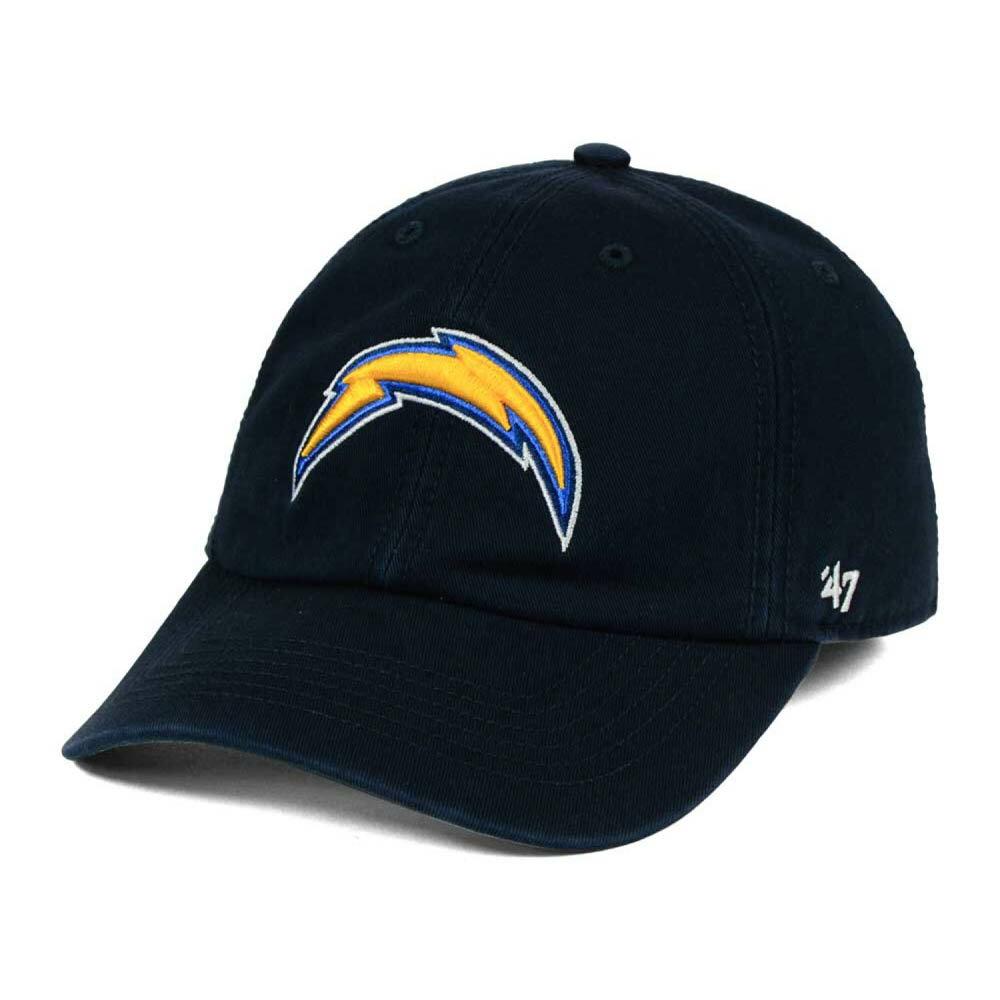 お取り寄せ お取り寄せ NFL チャージャース キャップ/帽子 フランチャイズ ロークラウン 47ブランド/47 Brand ネイビー