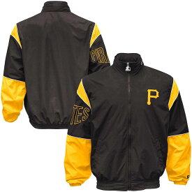 MLB パイレーツ ジャケット/アウター フルジップ ガスト メンズ スターター/Starter ブラック
