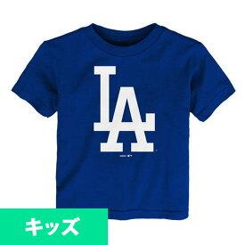 リニューアル記念メガセール MLB ドジャース Tシャツ ユース プライマリー ロゴ ショートスリーブ マジェスティック/Majestic ロイヤル