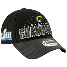 NFL ラムズ キャップ/帽子 NFC カンファレンスチャンピオン ロッカールーム キャップ ニューエラ/New Era【1907セール】