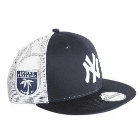 MLB ヤンキース キャップ/帽子 リーグ パッチ トラッカー メッシュ ニューエラ/New Era