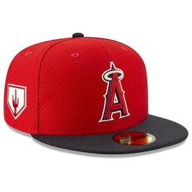 MLB エンゼルス キャップ/帽子 2019 春季キャンプ オンフィールド プロライト バッティングプラクティス ニューエラ/New Era ゲーム