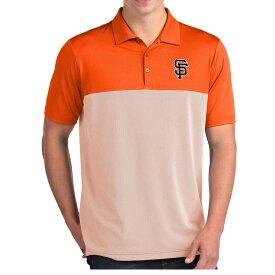 MLB ジャイアンツ ポロシャツ ベンチャー パフォーマンス メンズ Antigua オレンジ