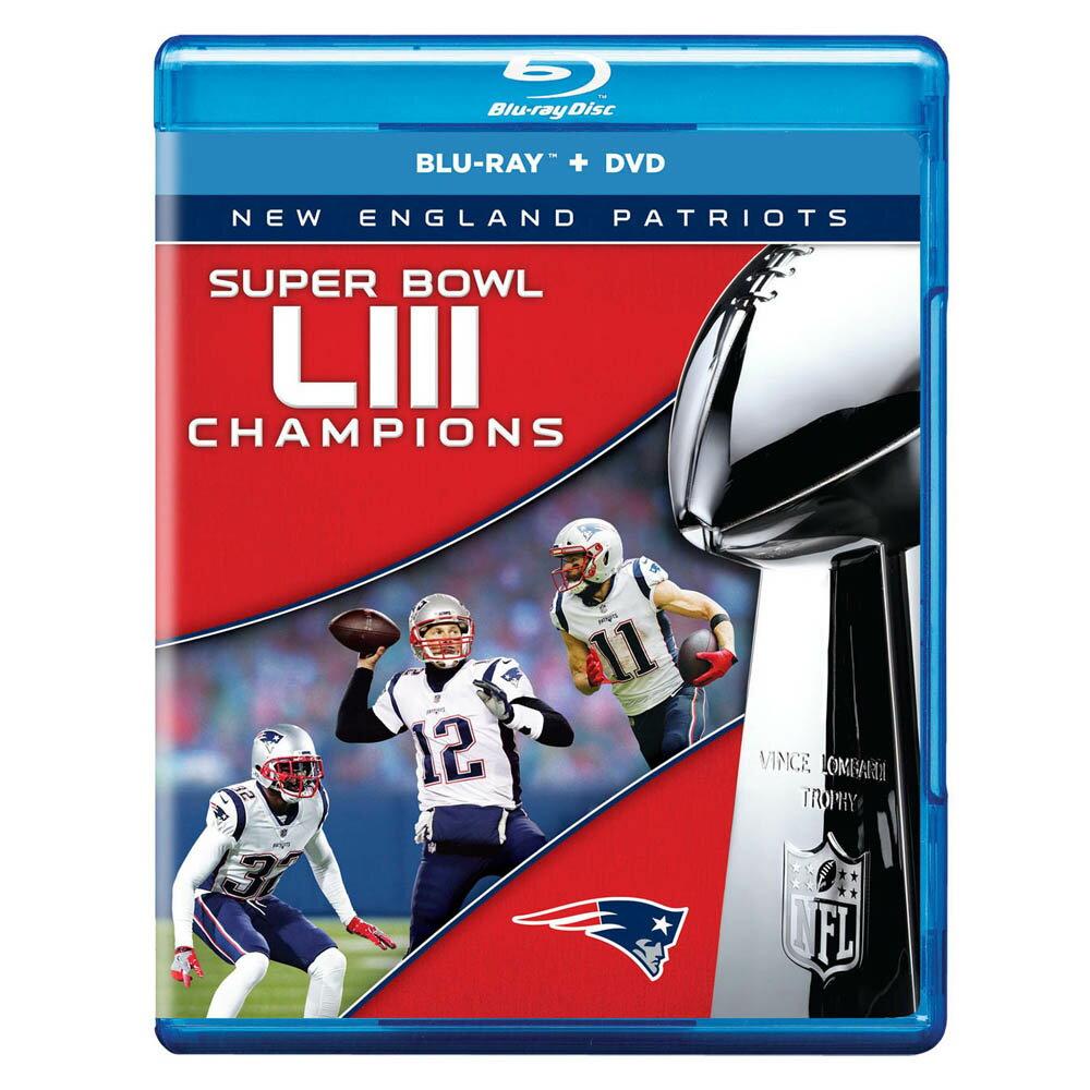 ご予約 ご予約 NFL ペイトリオッツ 第53回スーパーボウル 優勝記念 DVD & ブルーレイ セット