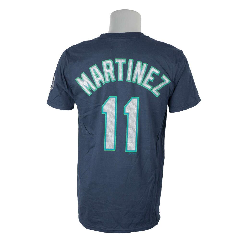 MLB マリナーズ Edgar Martinez #11 Tシャツ 2019ホールオブフェイムプレイヤー マジェスティック/Majestic ネイビー
