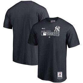 MLB ヤンキース Tシャツ 2019 オーセンティックSS マジェスティック/Majestic ネイビー