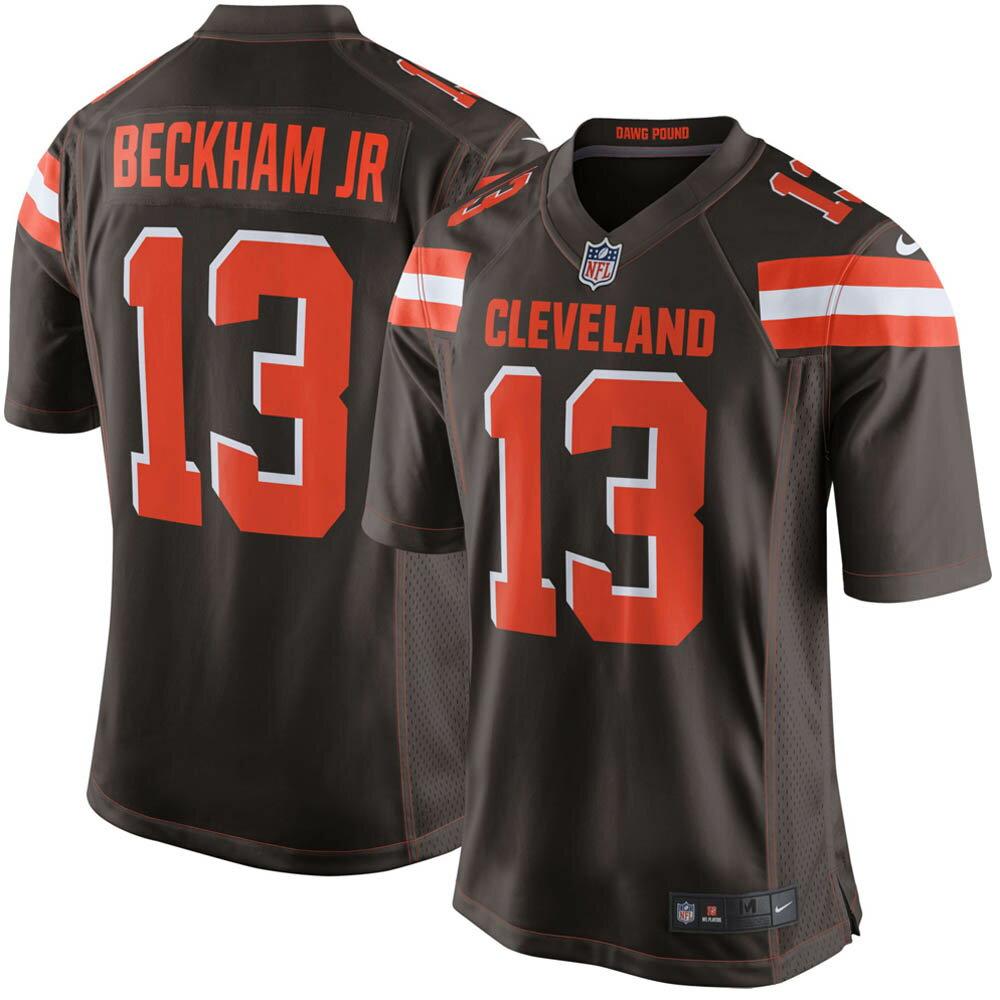 お取り寄せ NFL ブラウンズ オデル・ベッカム ユニフォーム/ジャージ ゲーム ナイキ/Nike ホーム